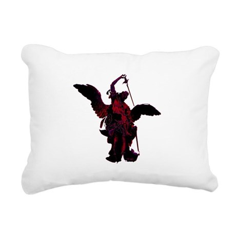 angel1a2blg.png Rectangular Canvas Pillow