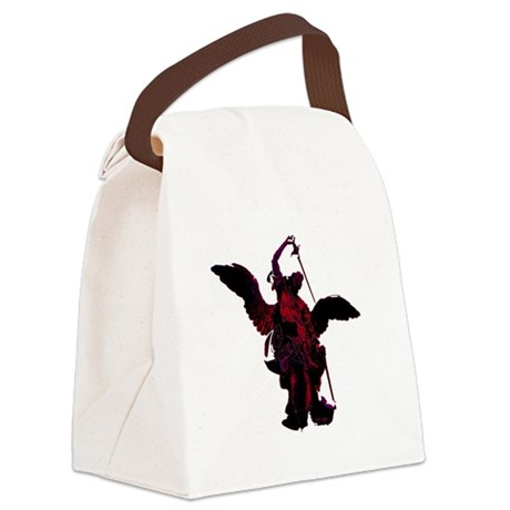 angel1a2blg.png Canvas Lunch Bag