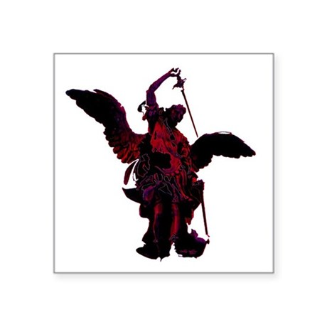 "angel1a2blg.png Square Sticker 3"" x 3"""