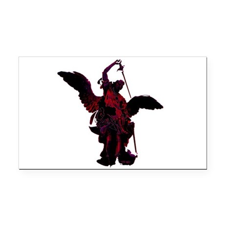 angel1a2blg.png Rectangle Car Magnet