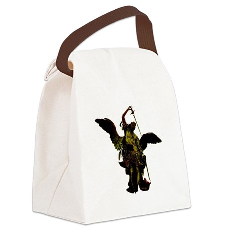 angel1a2dlg.png Canvas Lunch Bag