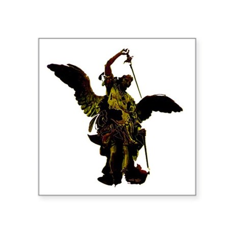 "angel1a2dlg.png Square Sticker 3"" x 3"""