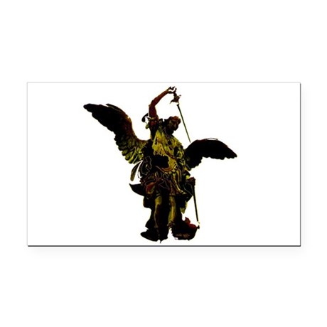 angel1a2dlg.png Rectangle Car Magnet
