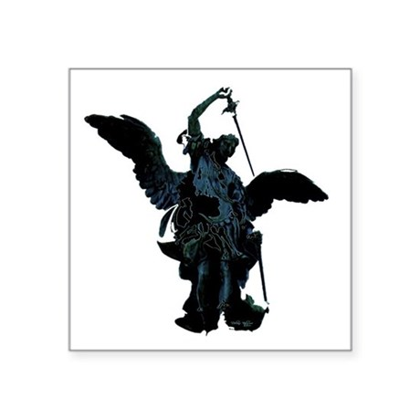 "angel1.png Square Sticker 3"" x 3"""
