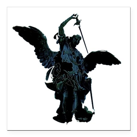 "angel1.png Square Car Magnet 3"" x 3"""