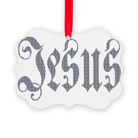 Jesus Picture Ornament