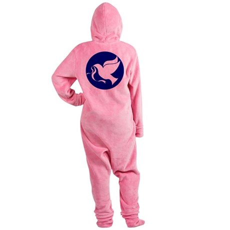 dovepeace.png Footed Pajamas
