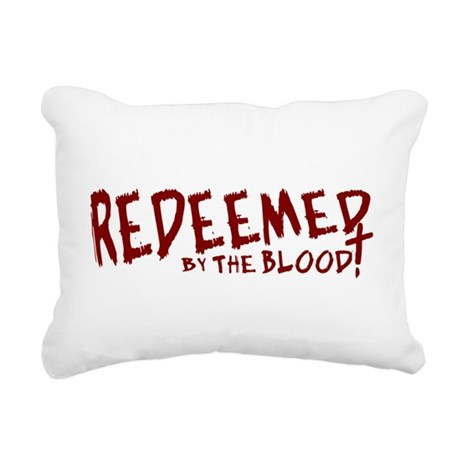 reedeemed2.png Rectangular Canvas Pillow