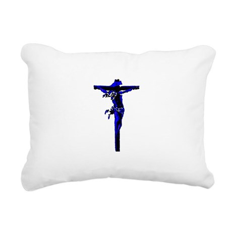 Jesus19.png Rectangular Canvas Pillow