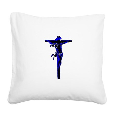 Jesus19.png Square Canvas Pillow