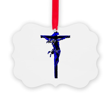 Jesus19.png Picture Ornament