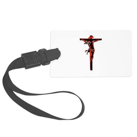 Jesus19.png Large Luggage Tag