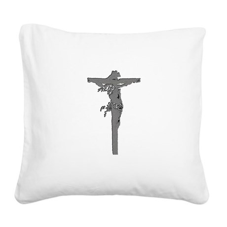 Jesus16b.png Square Canvas Pillow