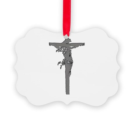 Jesus16b.png Picture Ornament