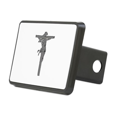 Jesus16b.png Rectangular Hitch Cover