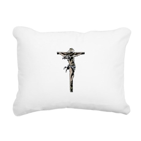 Jesus17b.png Rectangular Canvas Pillow