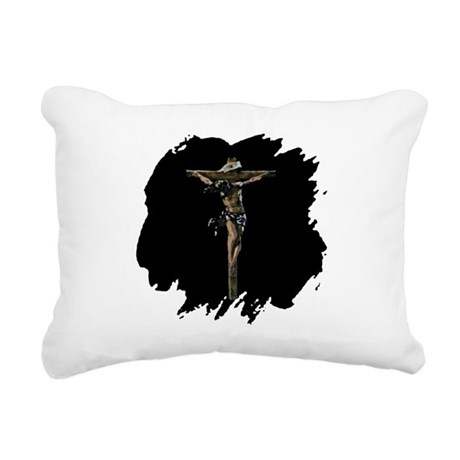 Jesus14b.png Rectangular Canvas Pillow