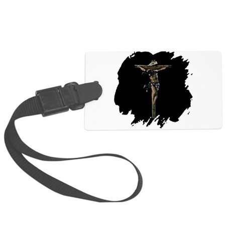 Jesus14b.png Large Luggage Tag