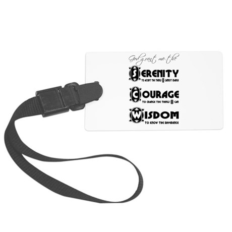 serenity3.png Large Luggage Tag