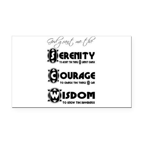 serenity3.png Rectangle Car Magnet
