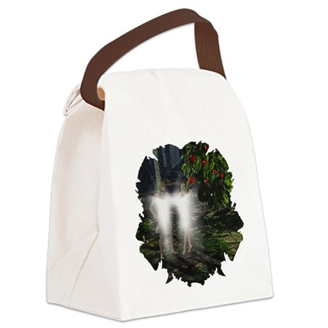 adameveclk5.jpg Canvas Lunch Bag