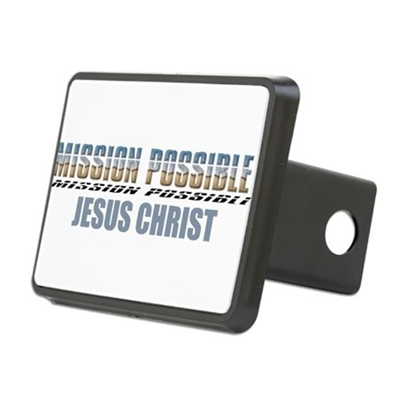 Jesus Christ Rectangular Hitch Cover