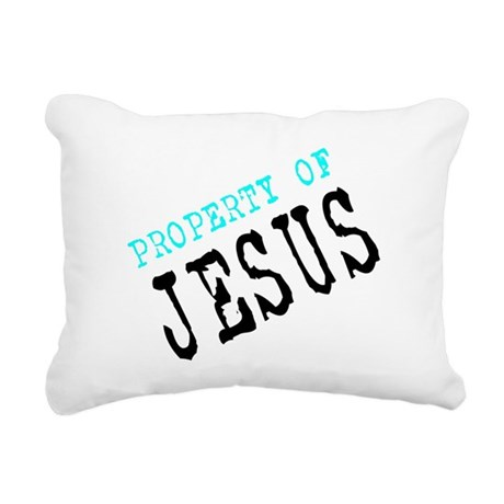 Property of Jesus Rectangular Canvas Pillow