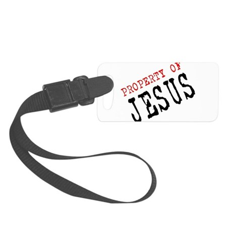 Property of Jesus Small Luggage Tag