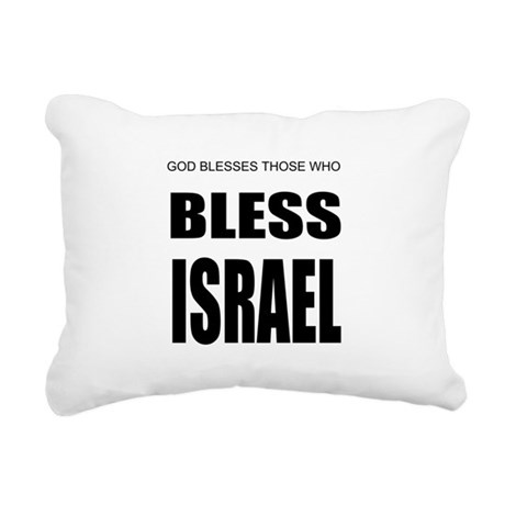 Israel Rectangular Canvas Pillow