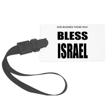 Israel Large Luggage Tag