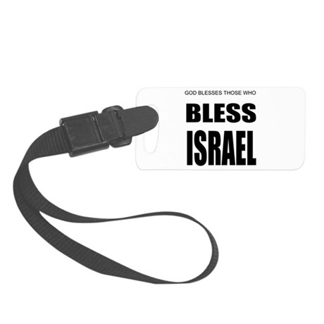 Israel Small Luggage Tag