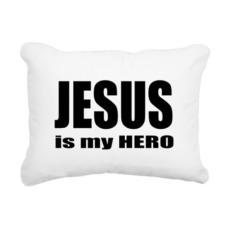 hero Rectangular Canvas Pillow