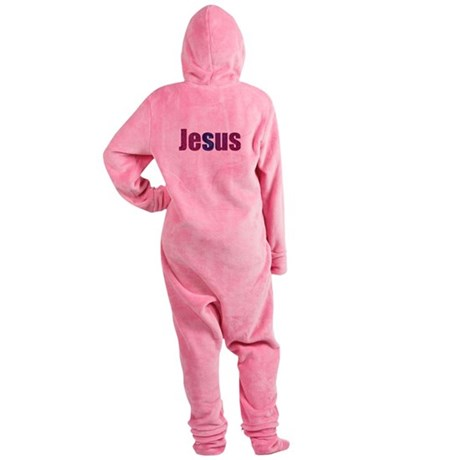 Jesus Footed Pajamas