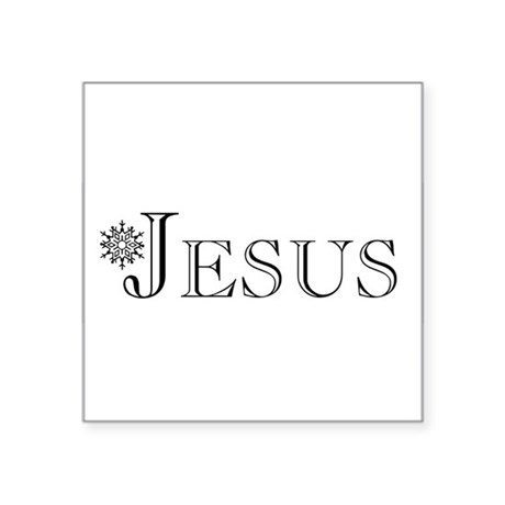 Jesus Square Sticker 3&quot; x 3&quot;