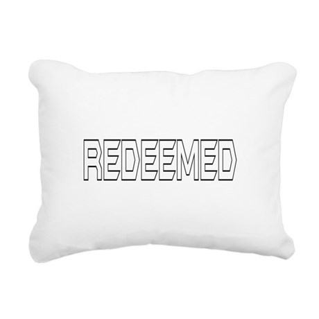 Redeemed Rectangular Canvas Pillow