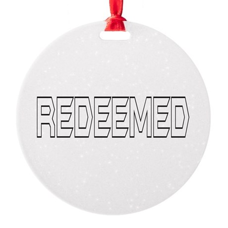 Redeemed Round Ornament
