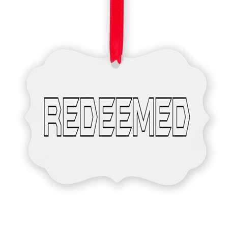 Redeemed Picture Ornament
