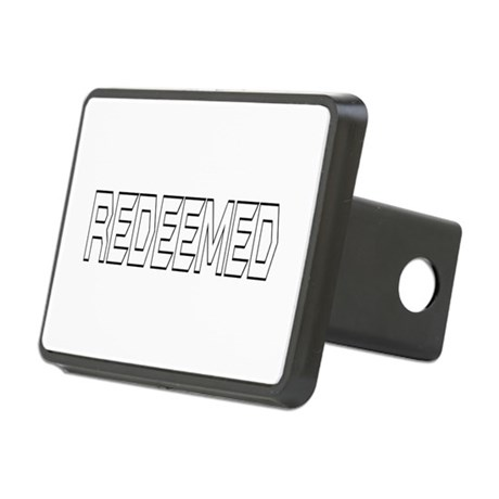 Redeemed Rectangular Hitch Cover