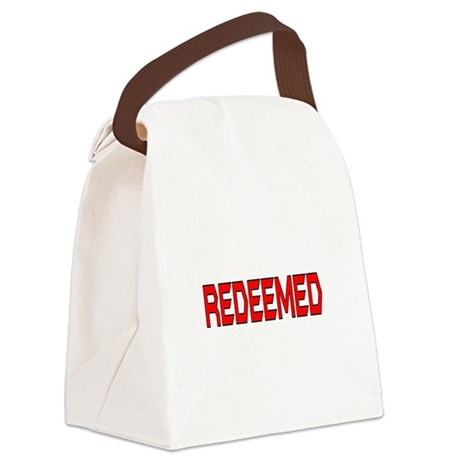 Redeemed Canvas Lunch Bag