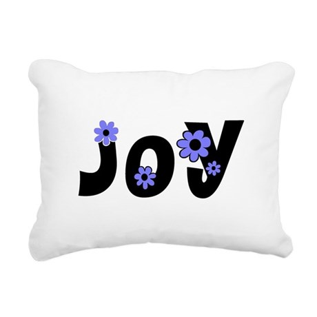 Joy Rectangular Canvas Pillow
