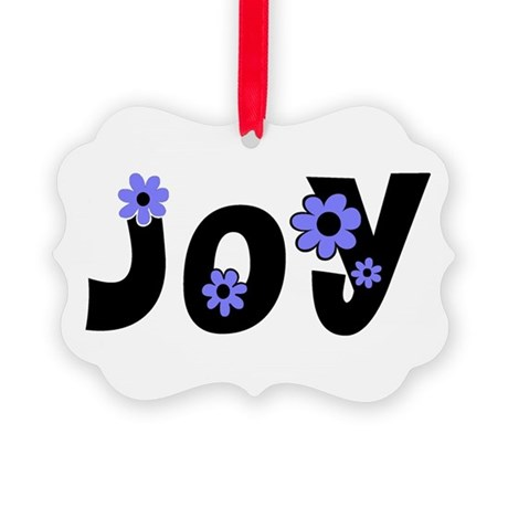 Joy Picture Ornament