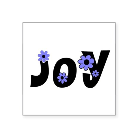 "Joy Square Sticker 3"" x 3"""