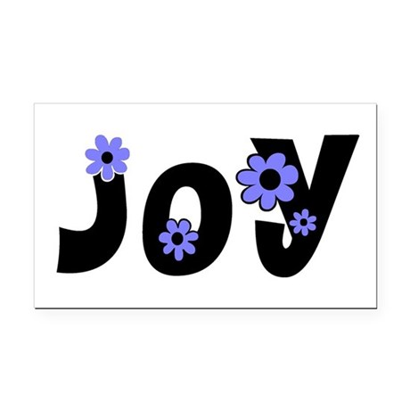 Joy Rectangle Car Magnet