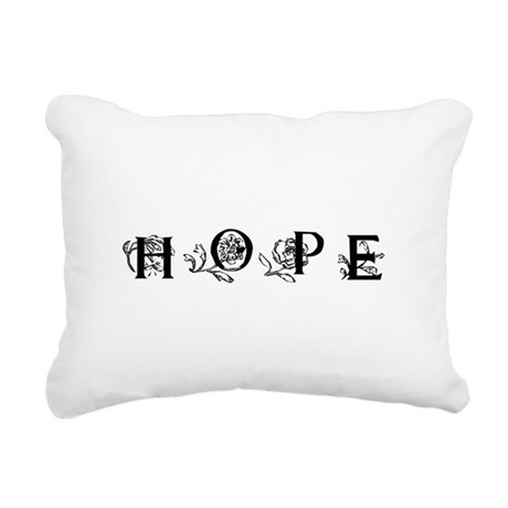 Hope Rectangular Canvas Pillow