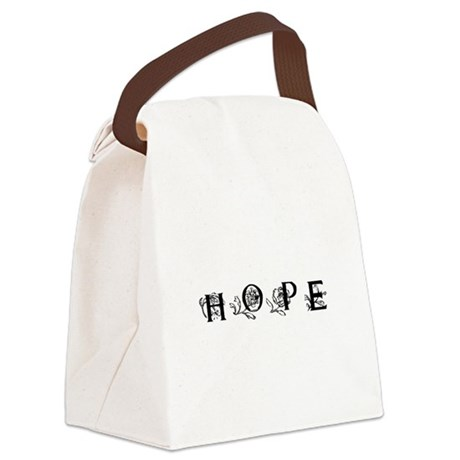 Hope Canvas Lunch Bag
