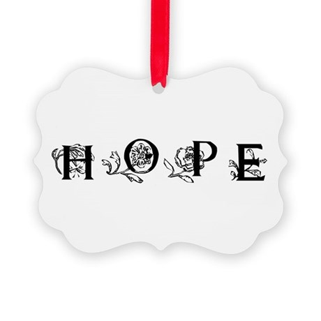 Hope Picture Ornament