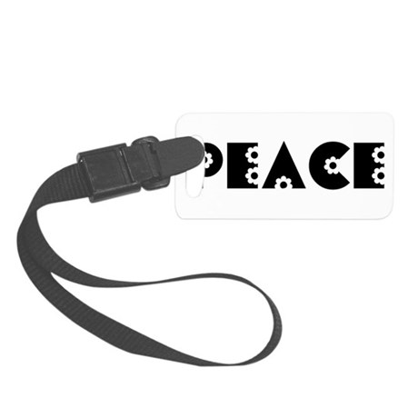 Peace Small Luggage Tag