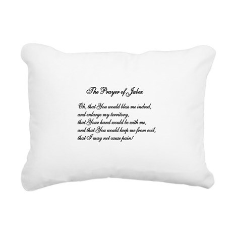 The Prayer of Jabez Rectangular Canvas Pillow