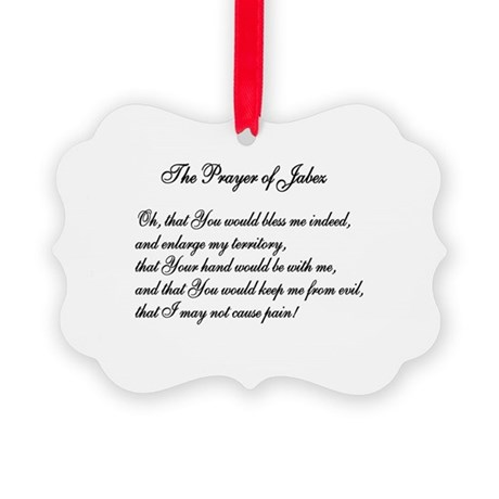 The Prayer of Jabez Picture Ornament