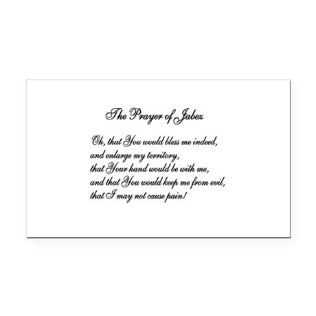 The Prayer of Jabez Rectangle Car Magnet